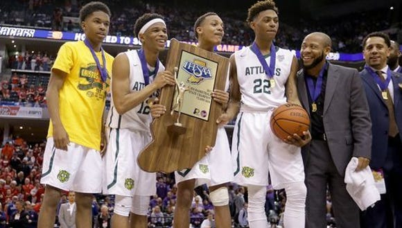 Defending champion Crispus Attucks is ranked No. 1