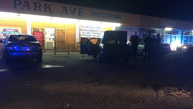 Police respond to reports of two people were shot and critically wounded in the 3000 block of Park Avenue in the Orange Mound / Barron Heights neighborhood shortly after 9:30 p.m.
