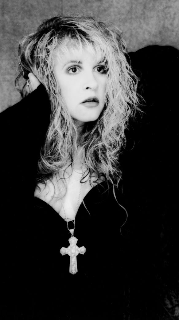 Stevie Nicks in 1998.