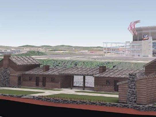Fort Nashborough rendering