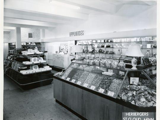 Herberger's lower level, 1948.