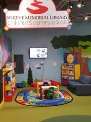 Children's Library at the Power of Play Children's Museum, located inside of Sci-Port Discovery Center.