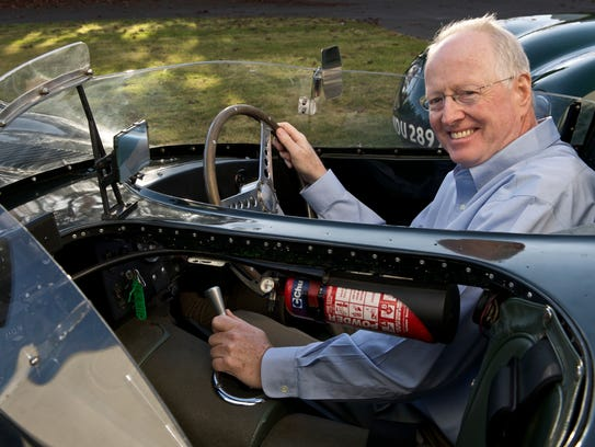 Test Drive columnist James R. Healey about to hit the