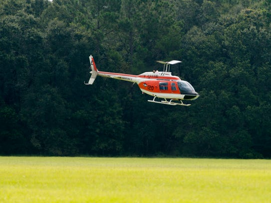 Navy, Marine and Coast Guard helicopter pilots and