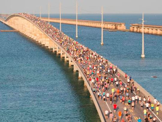 In this aerial photo provided by the Florida Keys News
