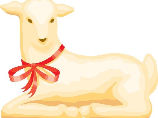 Easter butter lamb.eps