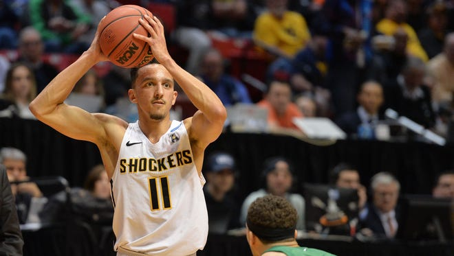 Wichita State guard Landry Shamet worked out for the Pacers on Thursday.