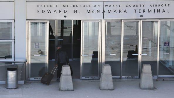 McNamara terminal at Detroit Metropolitan Wayne County