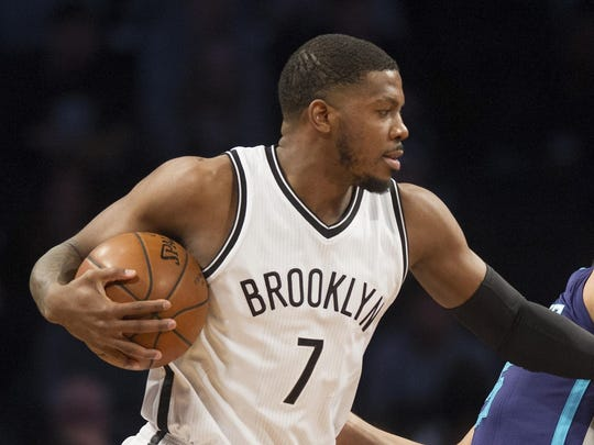 Joe Johnson, a swingman since waived by the Nets and reportedly headed to the Heat, hasn't really been a good player in two seasons.