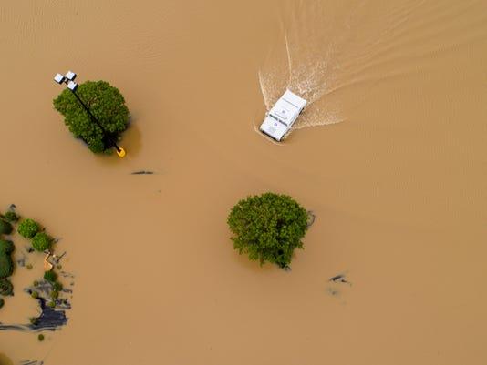 AP SEVERE WEATHER FLOODING ARKANSAS A WEA USA AR
