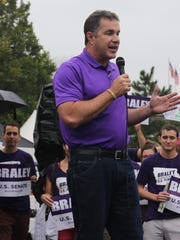 Bruce Braley drew cheers at The Des Moines Register's State Fair Soapbox recently when he mentioned his support for renewable fuels.