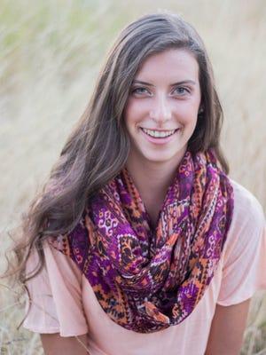 McKay High School Senior, Hannah Sanders.