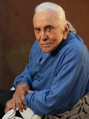 """With his 98th birthday approaching, Kirk Douglas has published a new book of poetry,  """"Life Could Be Verse."""""""