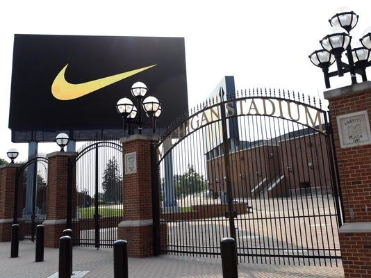 Michigan Nike Football