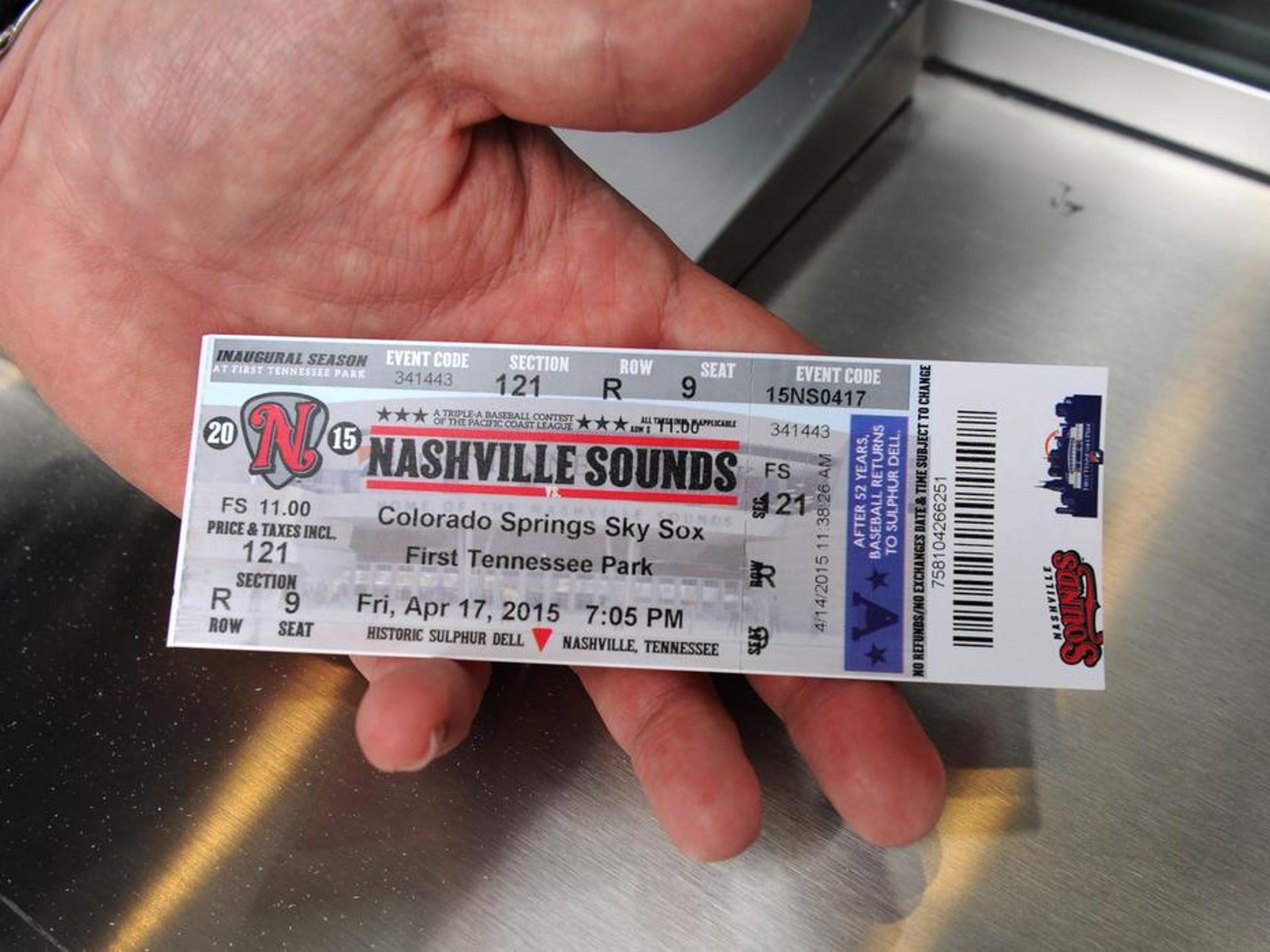 A look at the tickets to opening day.