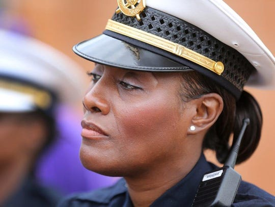 Lt. Danita Pettis, shown in a 2015 file photo, has