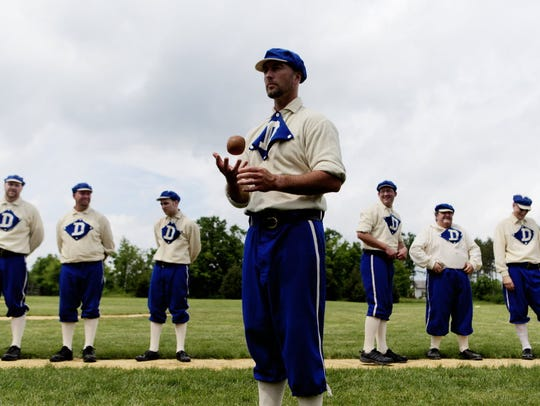 See what baseball was like back in the 1870s at Old