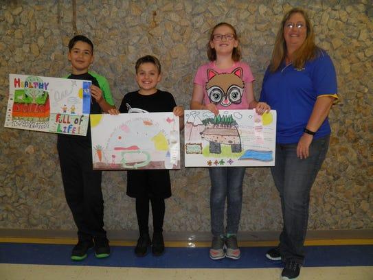 Veribest Elementary School fifth-grade conservation