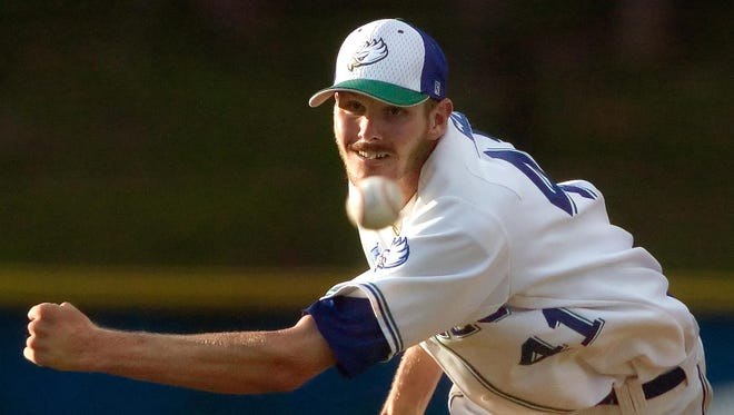Former FGCU pitcher Chris Sale, pictured in 2010, is one of six inaugural inductees to the Atlantic Sun Conference Hall of Fame.