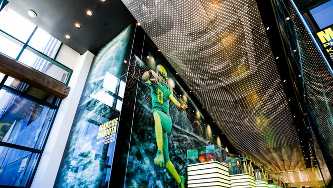 The Marcus Mariota Sports Performance Center and Oregon Equipment Room remodel