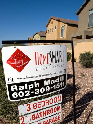 A home for sale in metro Phoenix.