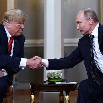 President Trump accepts Putin's denials of election meddling, prompting lawmaker outrage