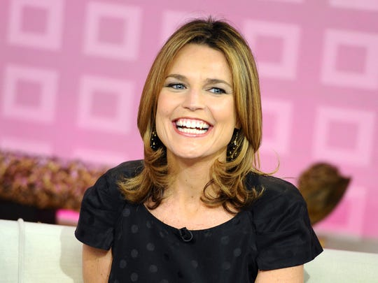 """Today"" show co-host Savannah Guthrie appears on the"