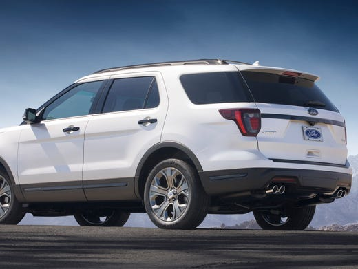 Ford Updates Looks Of The 2018 Explorer Suv With New Grille