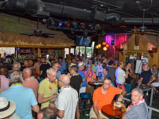 People party at Toucans Tiki Lounge circa 2015.