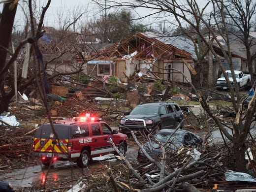 Texas Under Siege Tornadoes Flooding Snow And Ice