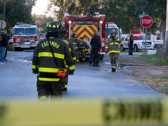 An early morning house fire at the intersection of