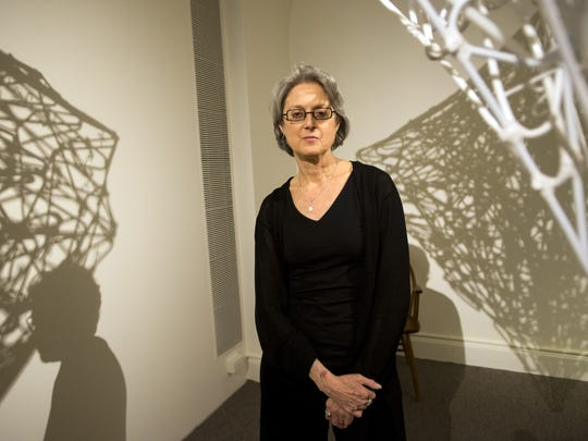 """Janie Cohen, director of the Fleming Museum, cited new curator Andrea Rosen's """"broad, generalist's knowledge of art history."""""""