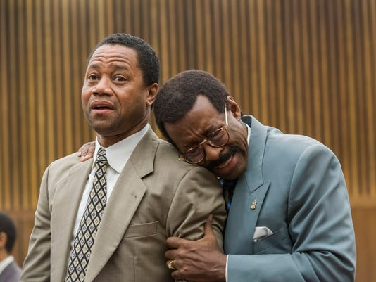 O.J. Simpson Cuba Gooding Jr. Courtney B. Vance