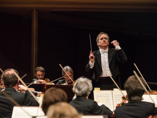 James Conlon conducts orchestras around the world.