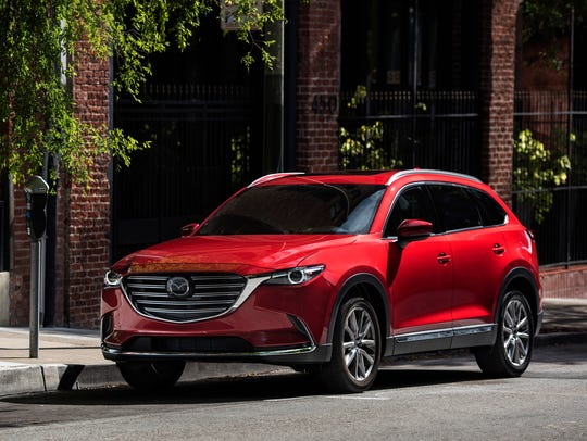 The 2016 Mazda CX-9 three-row crossover went on sale