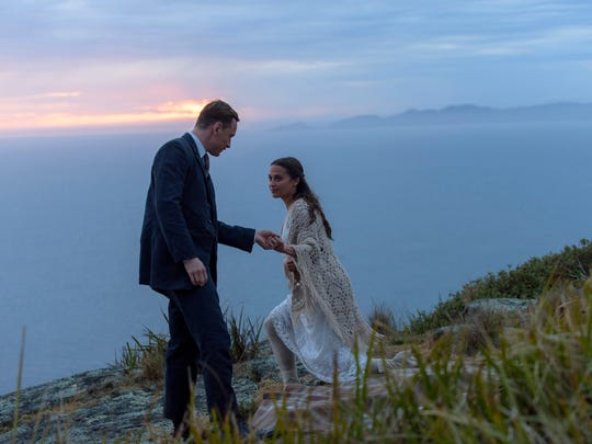 Michael Fassbender and Alicia Vikander star in 'The