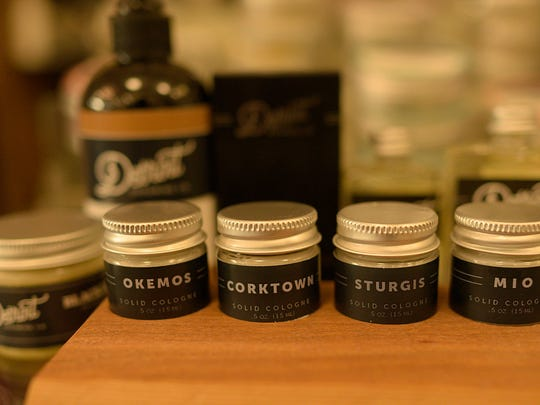 Products made by the Detroit Grooming Company.