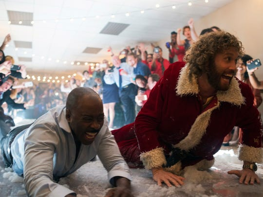 Courtney B. Vance and T.J. Miller revel in the festivities