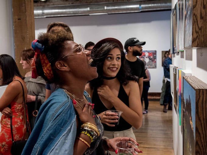 LAX/DTW opened at Detroit's Inner State Gallery featuring