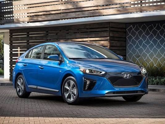 2017 Hyundai Ioniq Electric Car Is Long On Features Short On Range