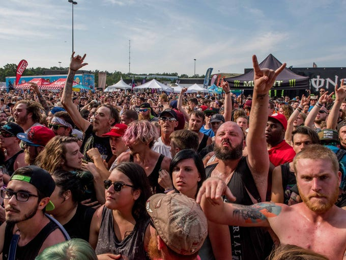 Vans Warped Tour '17 returned to the Palace of Auburn