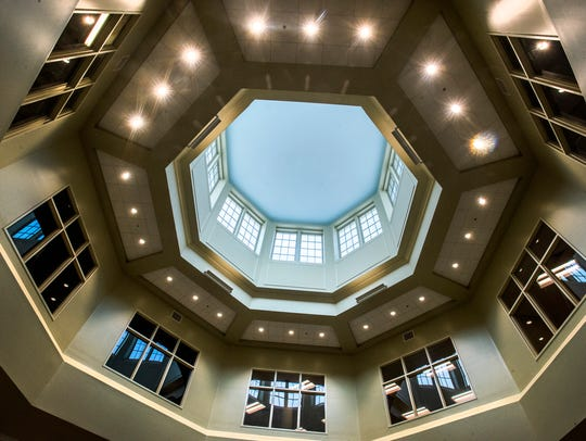 The Library at the new LAMP High School in Montgomery,