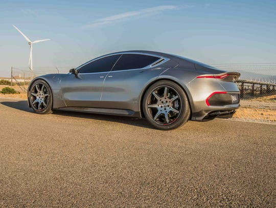 The Fisker EMotion will feature a 400 mile EV range