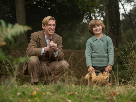 Domhnall Gleeson (left, with Will Tilston) stars as