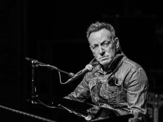 Bruce Springsteen in 'Springsteen on Broadway.'