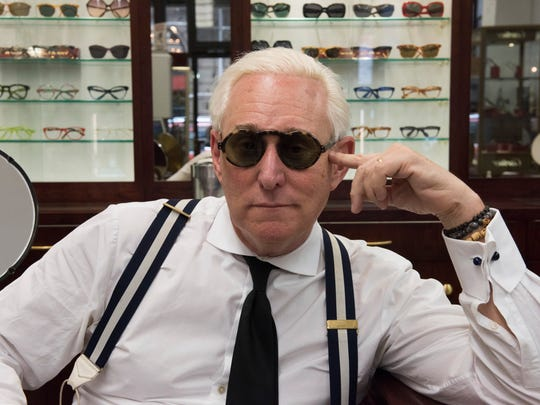 "Roger Stone in the Netflix Original documentary ""Get Me Roger Stone."""