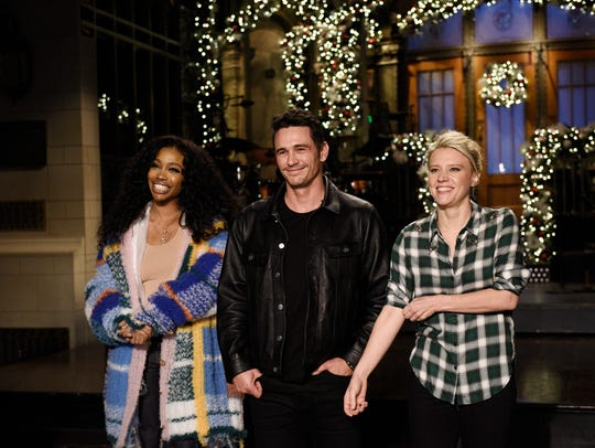 SZA was the musical guest during a recent SNL with host James Franco.