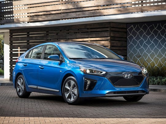 The 2017 Hyundai Ioniq Electric Vehicle had the highest