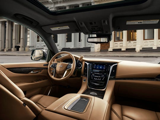 This photo provided by Cadillac shows the 2018 Cadillac