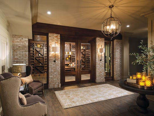 A new spin on an old world wine cellar